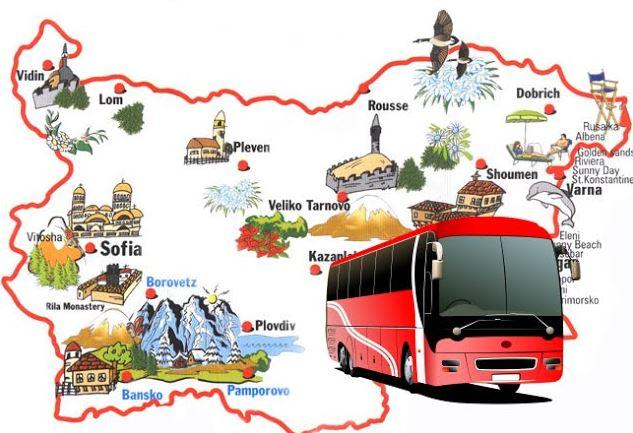 автобус в Болгарии