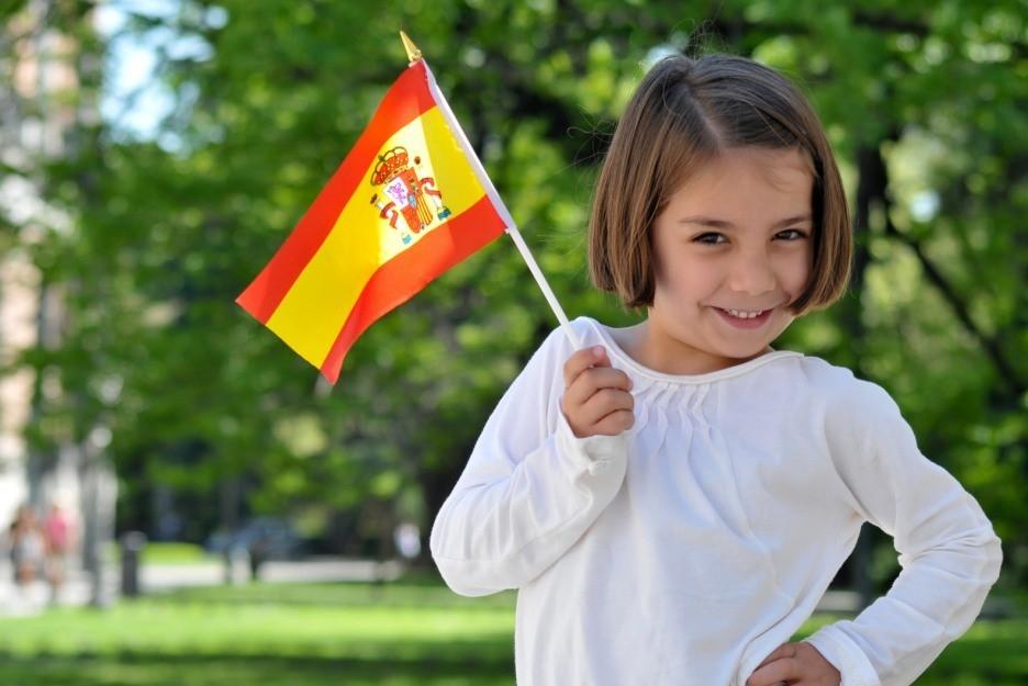 Девочка в Испании