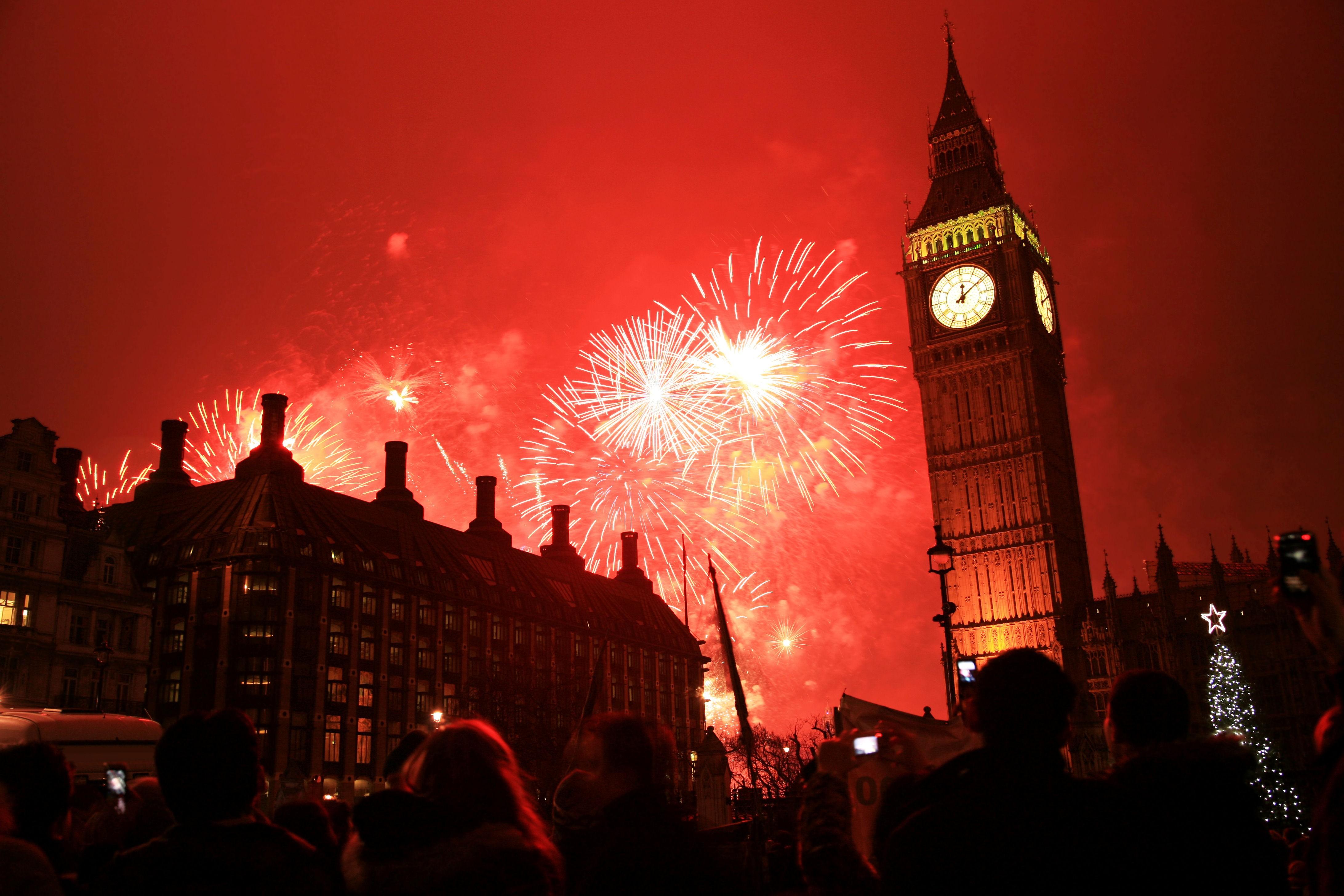 Лондон в огнях