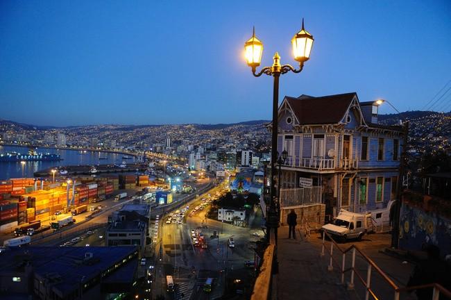 Ночь в Чили
