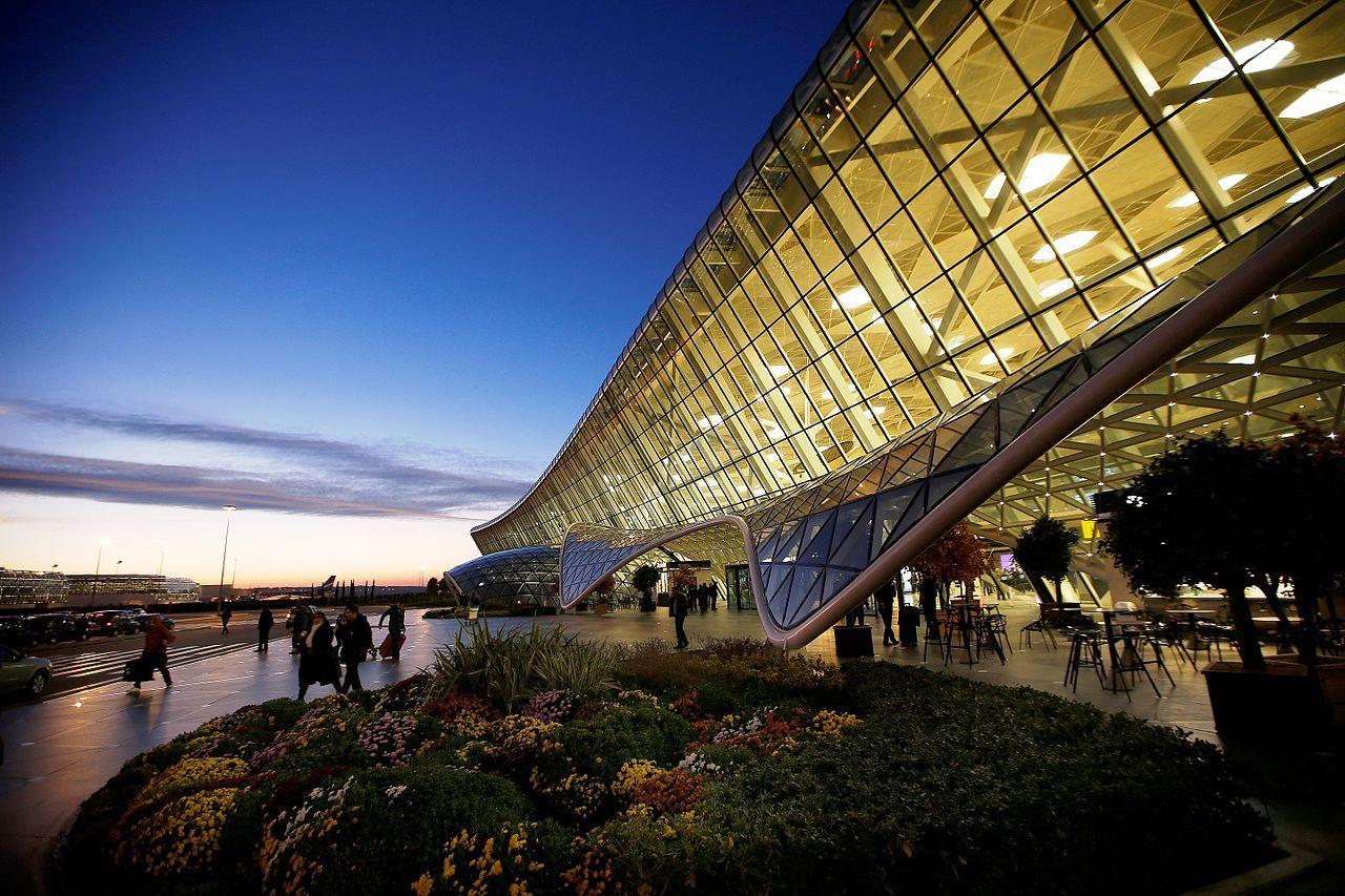 Аэропорт в Азербайджане