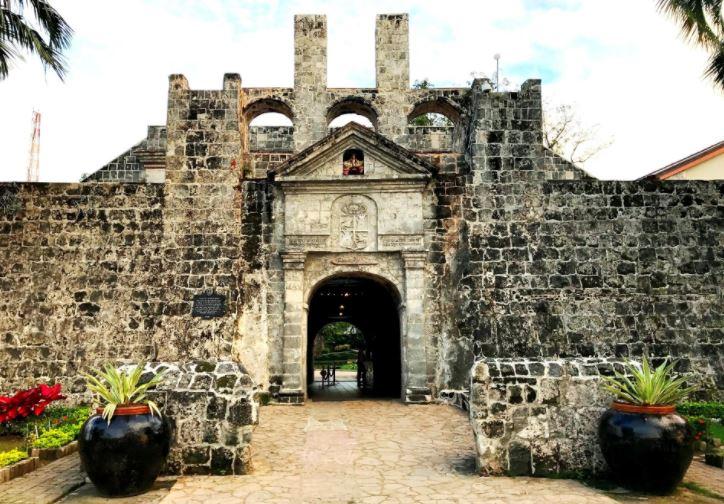 Форт Сан Педро Центральные ворота