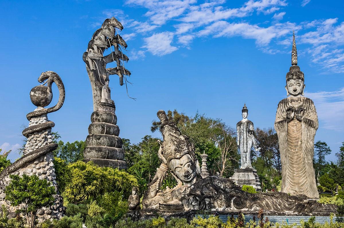 Будда-Парк, Вьентьян