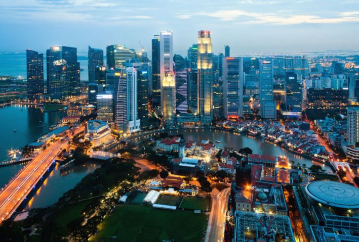 Сингапур с высока