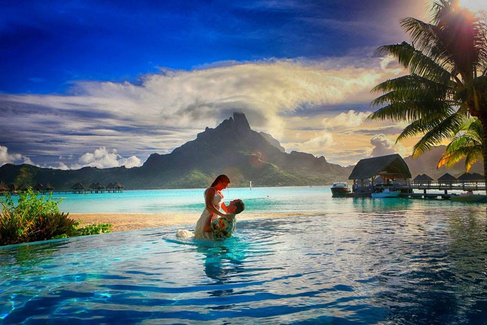 Свадьба во Французкой Полинезии