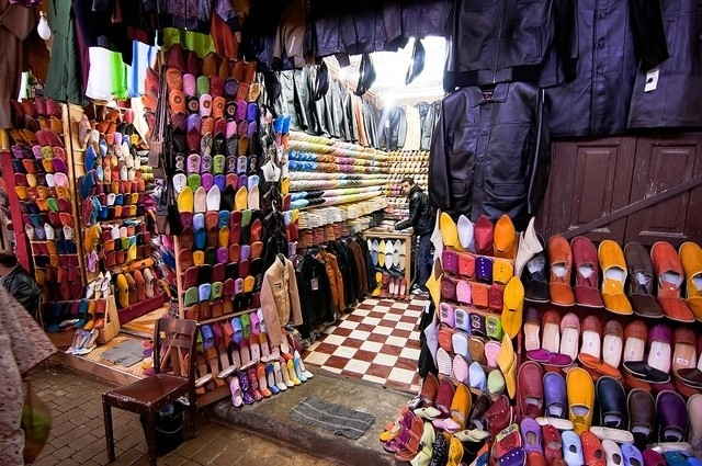 Шоппинг в Марокко